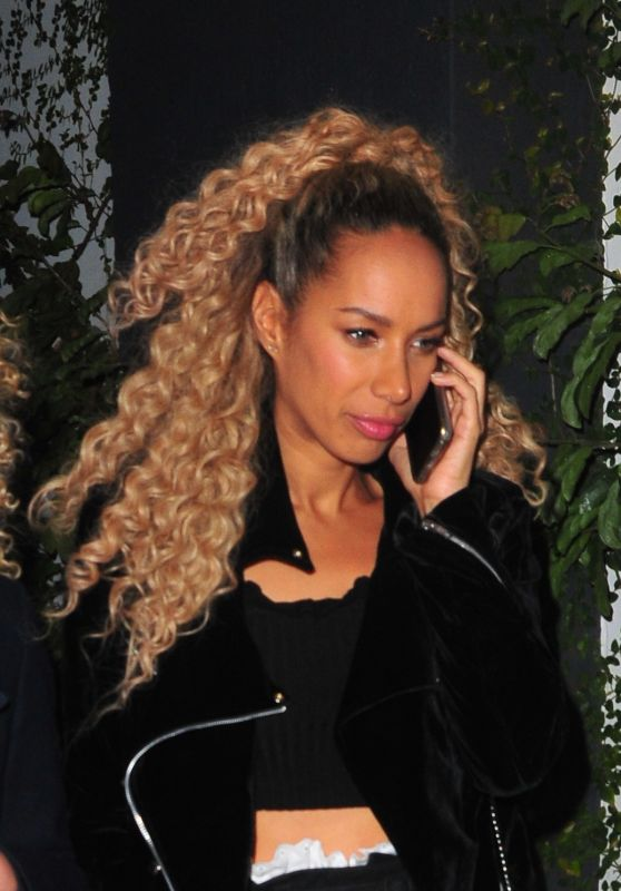 Leona Lewis at The Dream Hotel in Los Angeles 02/25/2018