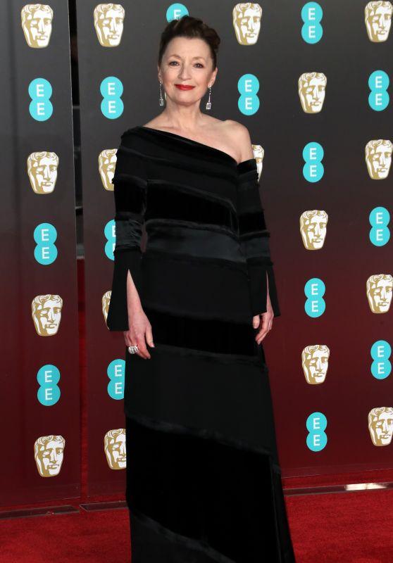 Lesley Manville – 2018 British Academy Film Awards