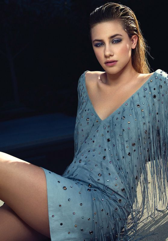 Lili Reinhart - Photoshoot for Ocean Drive Magazine February 2018