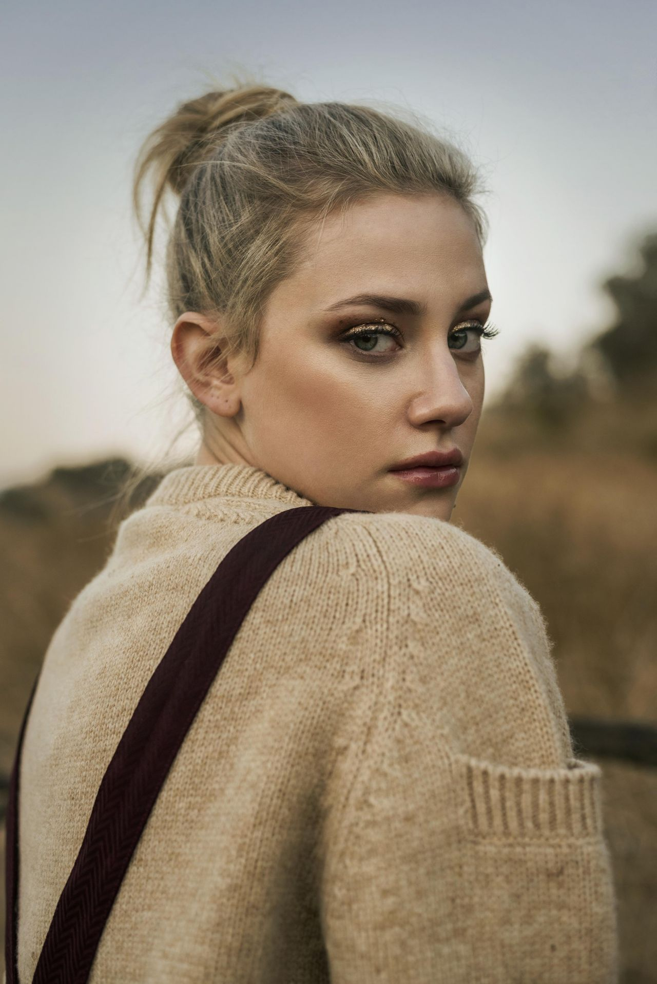 Lili Reinhart Photoshoot For Pulse Spikes Winter 2018