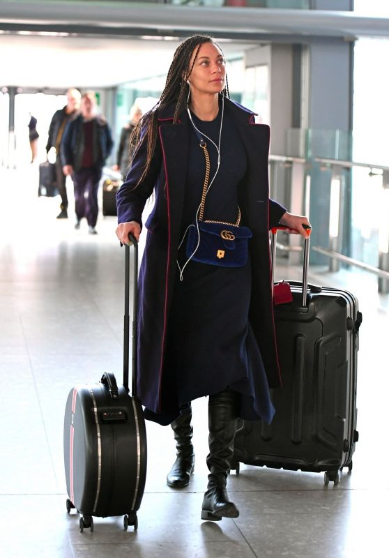 Lilly Becker at the Airport in London 02/26/2018