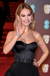 Lily James – 2018 British Academy Film Awards