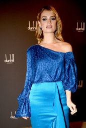 Lily James - Dunhill & GQ Pre-BAFTA Filmmakers Dinner And Party in London