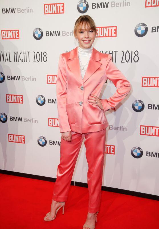 Lina Larissa Strahl – BUNTE & BMW Host Festival Night, Berlinale 2018