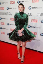 Lisa-Marie Koroll – BUNTE & BMW Host Festival Night, Berlinale 2018