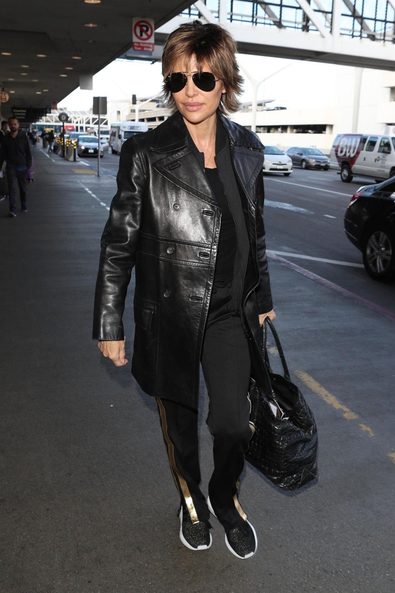 Lisa Rinna Los Angeles Lax Airport 02 27 2018