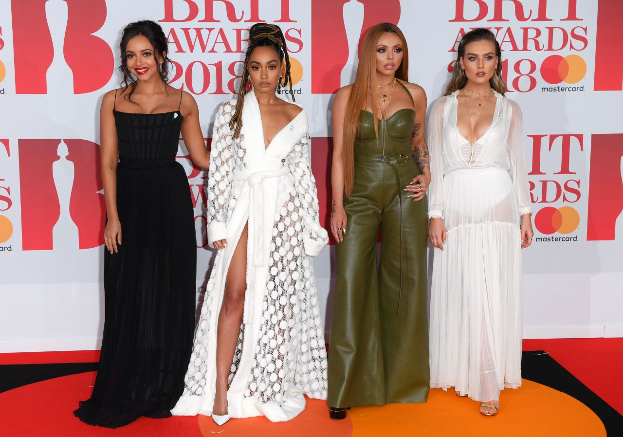 Little Mix 2018 Brit Awards In London