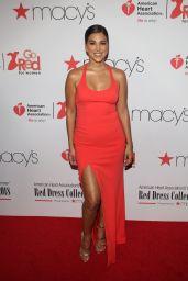 Liz Hernandez – NYFW Red Dress Collection 2018