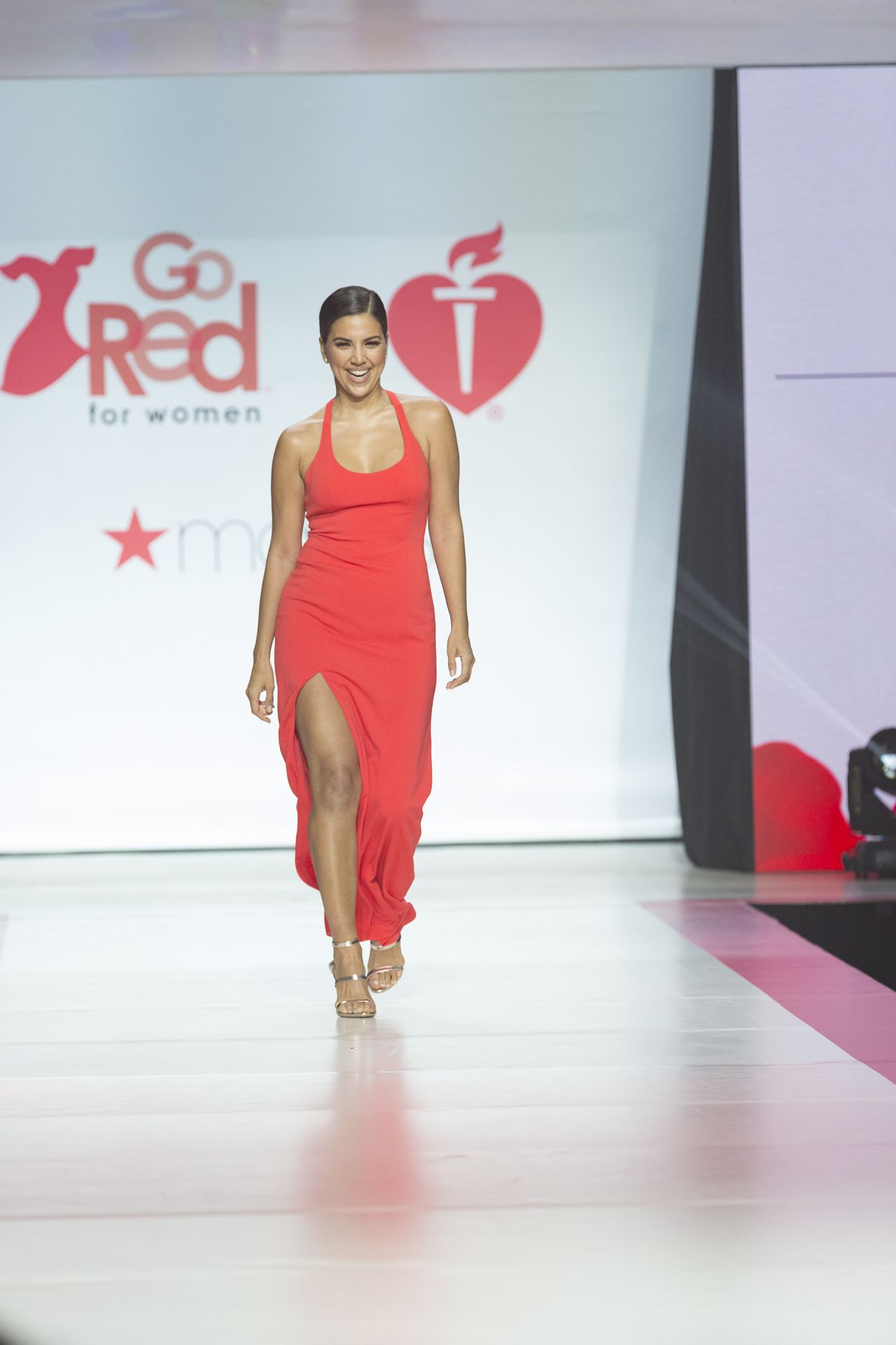 The Heart Truth's Red Dress Collection Fashion Show ...