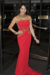 Lizzie Cundy – World Cancer Day Gala in London