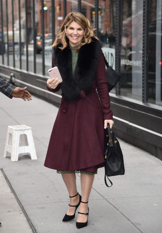Lori Loughlin - Arriving at Today Show in NYC 02/15/2018