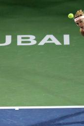 Lucie Safarova - WTA Dubai Championships 02/20/2018