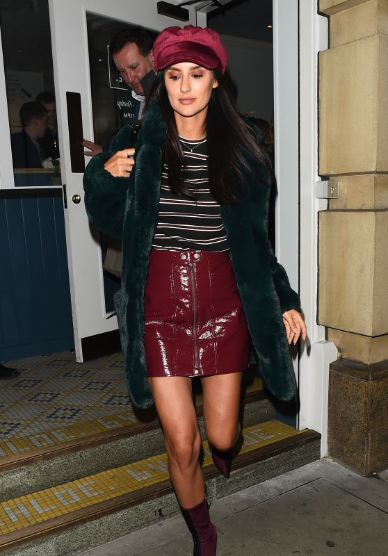 Lucy Watson at By Chloe Restaurant Launch Party in London