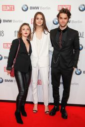 Luise Befort and Emma Drogunova – BUNTE & BMW Host Festival Night, Berlinale 2018