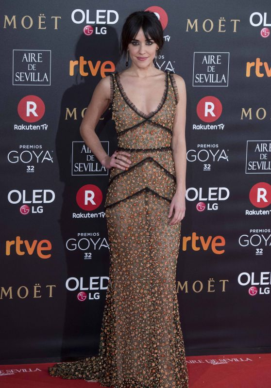 Macarena Garcia – 2018 Goya Awards in Madrid