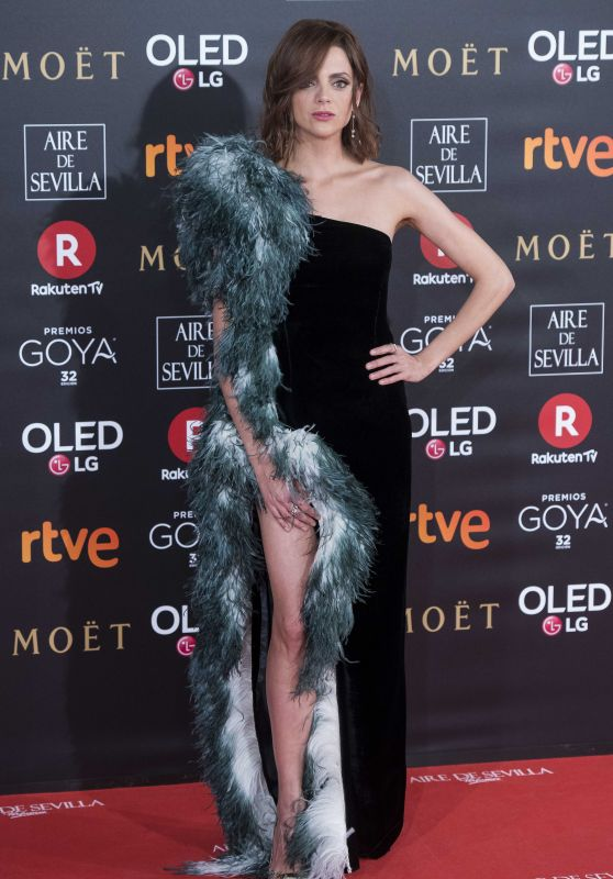 Macarena Gomez – 2018 Goya Awards in Madrid
