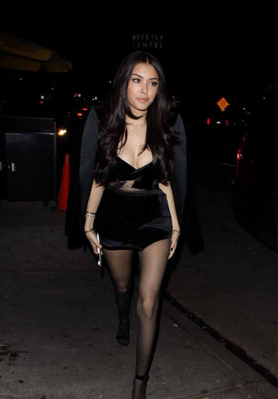 Madison Beer Arrives at Her Listening Party in West Hollywood