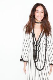 Maggie Q – Tory Burch Fashion Show Fall Winter 2018 in NYC
