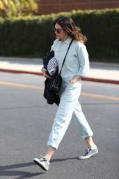 Mandy Moore Shows Off a New Haircut - Los Angeles 02/12/2018