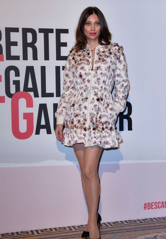 Margareth Made – Grazia Scandal Party in Milan 02/21/2018