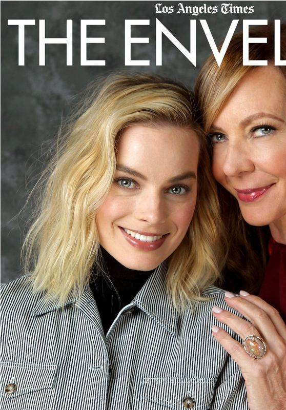 Margot Robbie and Allison Janney - Los Angeles Times