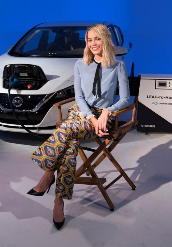 Margot Robbie - Confirms New Formula E Concept Livery to be Revealed at Geneva Motor Show