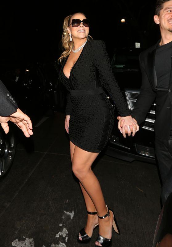 Mariah Carey and Bryan Tanaka Leave The Reserve Night Club in LA 02/25/2018