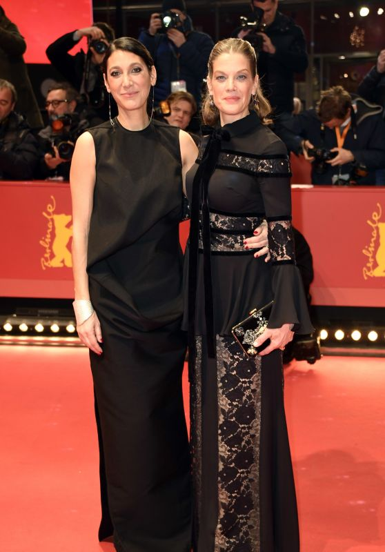 "Marie Bäumer and Emily Atef – ""3 Days in Quiberon"" Premiere at Berlinale 2018"