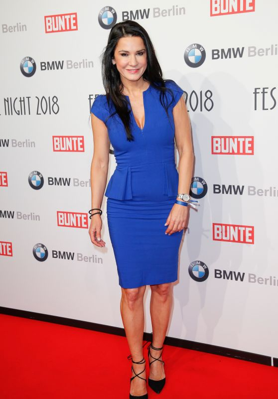 Mariella Ahrens – BUNTE & BMW Host Festival Night, Berlinale 2018
