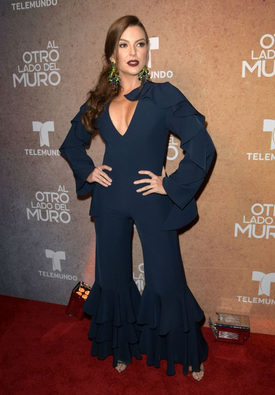 "Marjorie de Sousa - ""Al Otro Lado del Muro"" Telenova Screening in Miami"