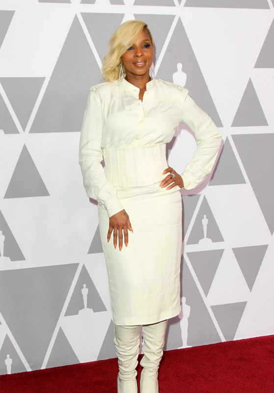 Mary J. Blige – Oscars Nominees Luncheon 2018 in Beverly Hills