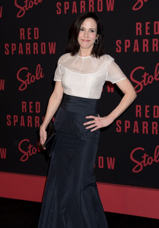 """Mary-Louise Parker – """"Red Sparrow"""" Premiere in NYC"""
