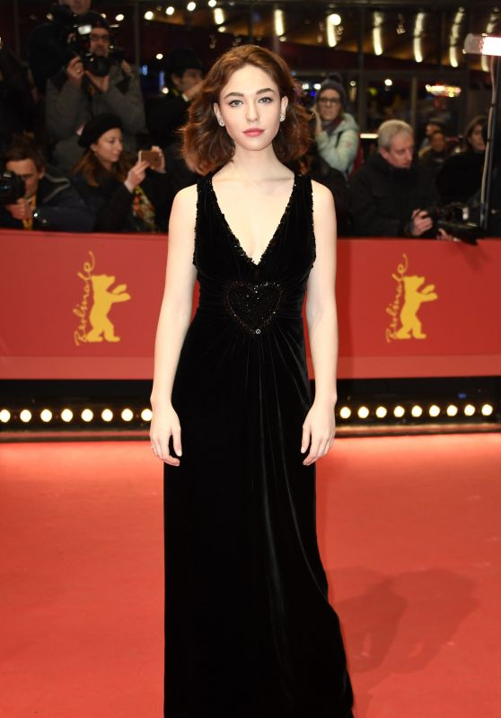 """Matilda de Angelis – """"3 Days in Quiberon"""" Premiere at Berlinale 2018"""