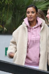 Maya Jama - Outside ITV Studios in London 02/19/2018