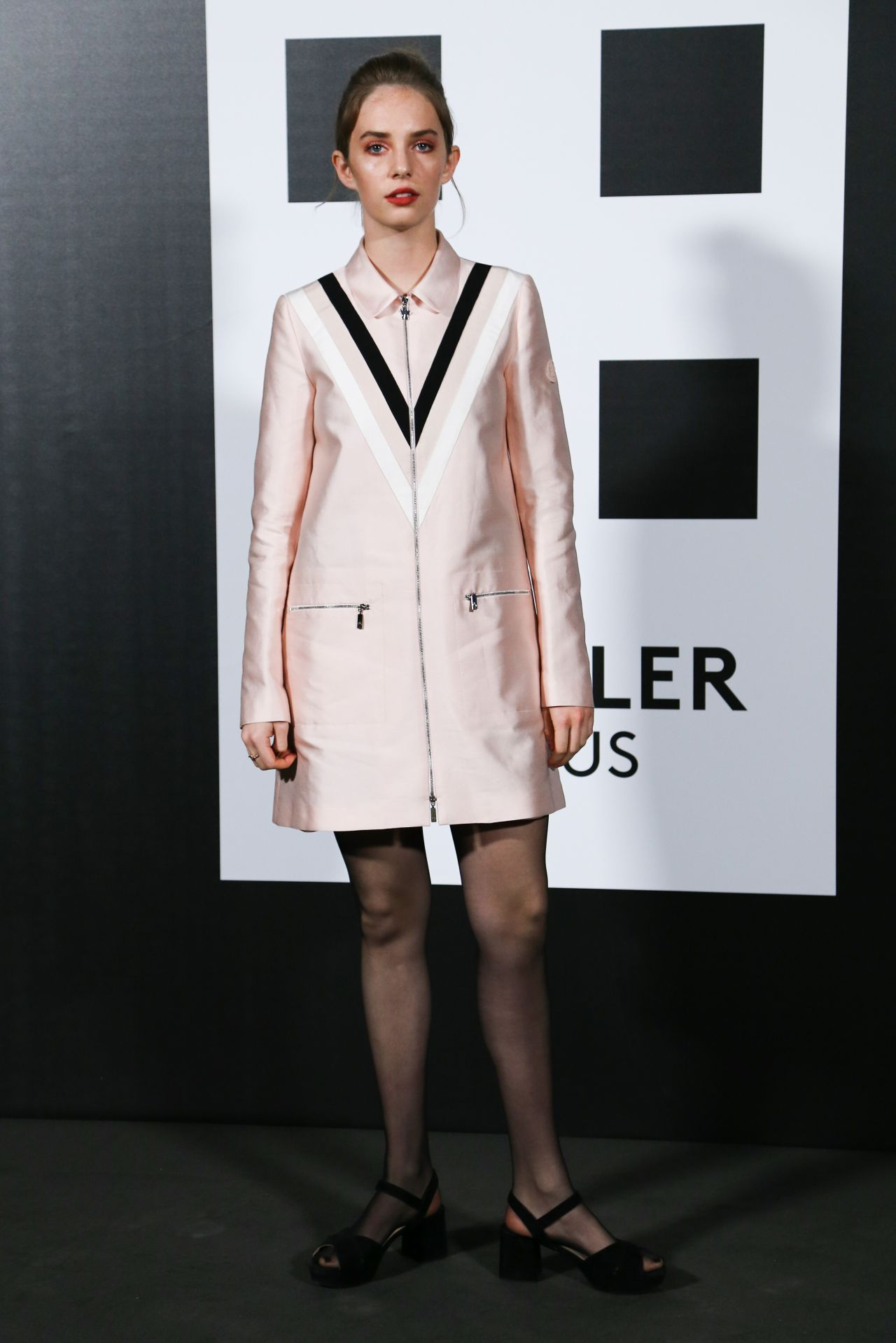 Maya Thurman Hawke – Moncler Genius Project, Milan Fashion Week 02/20/2018