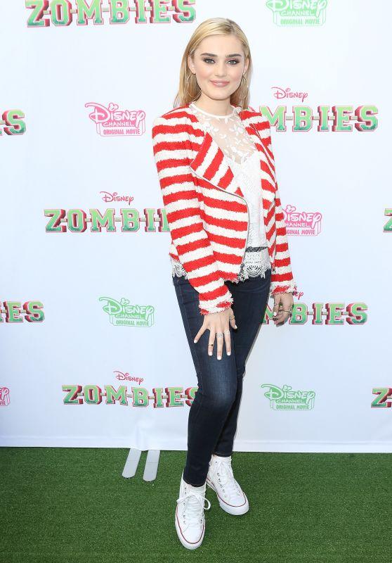 "Meg Donnelly - ""Zombies"" Premiere in Burbank"