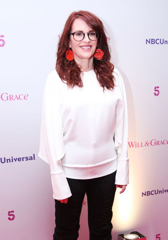 "Megan Mullally - ""Will and Grace"" TV Show UK Tour Photocall in London"