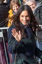 Meghan Markle and Prince Harry Visit Edinburgh