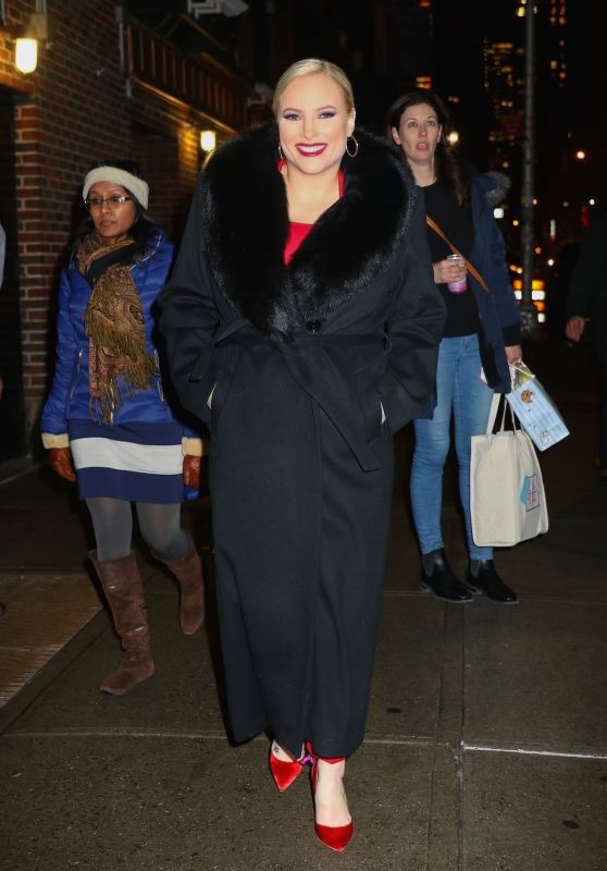 Meghan McCain - Leaves The Late Show with Stephen Colbert in NYC