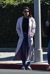Mila Kunis - Leaves a Hair Salon in Beverly Hills 02/23/2018