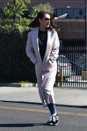 Mila Kunis - Leaving a Hair Salon in Los Angeles 02/23/2018