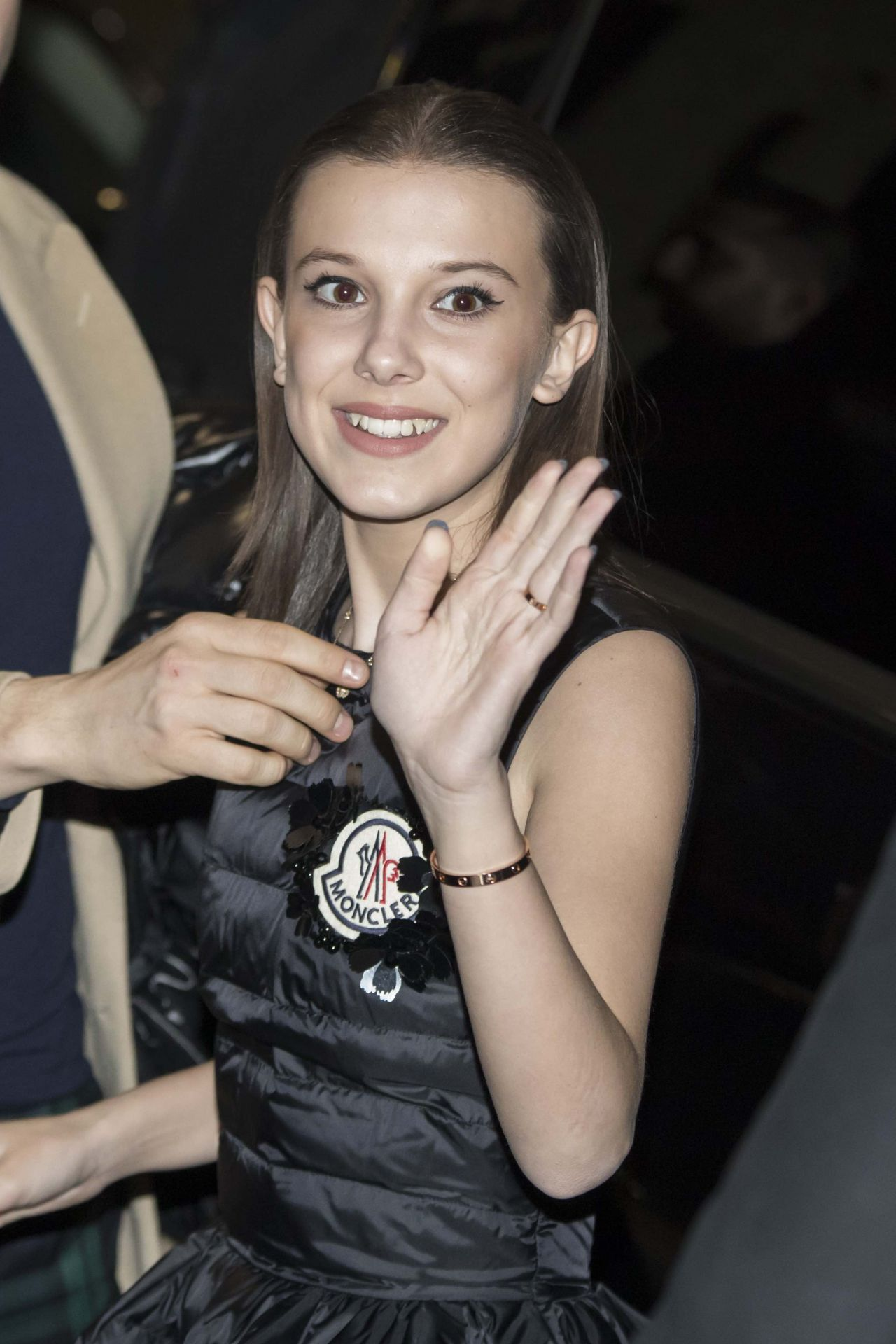 Millie Bobby Brown Moncler Party In Milan