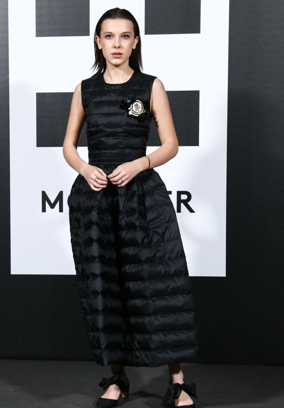 Millie Bobby Brown - Moncler Party in Milan