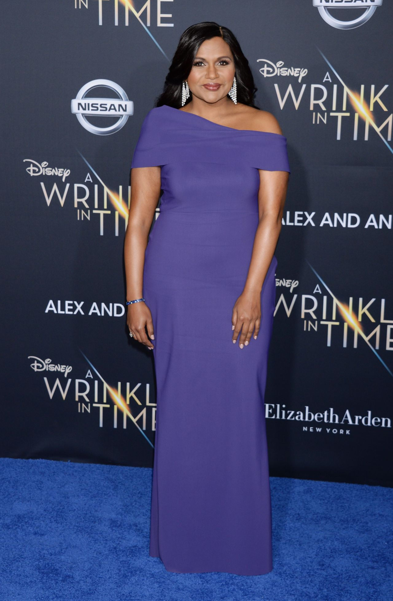 Mindy Kaling A Wrinkle In Time Premiere In Los Angeles