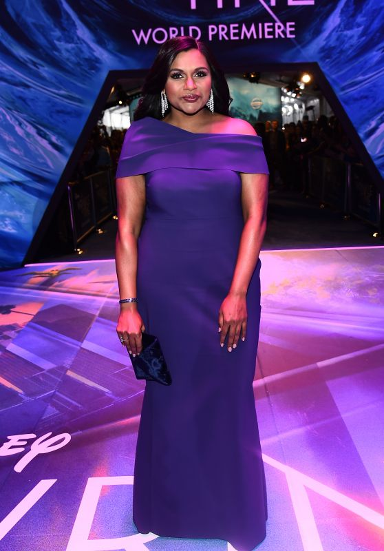 "Mindy Kaling – ""A Wrinkle in Time"" Premiere in Los Angeles"