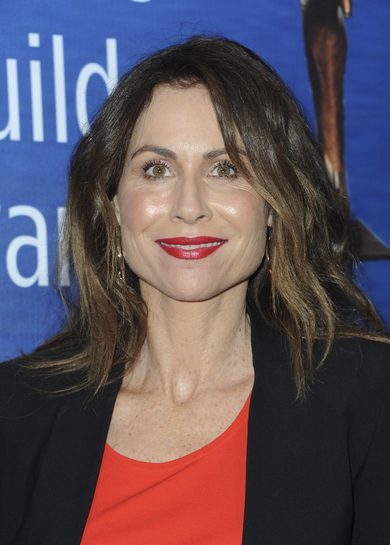 Minnie Driver Writers Guild Awards 2018 Red Carpet