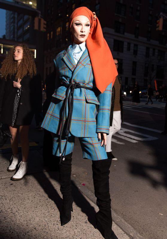 Miss Fame – Marc Jacobs Fashion Show, NYFW 02/14/2018