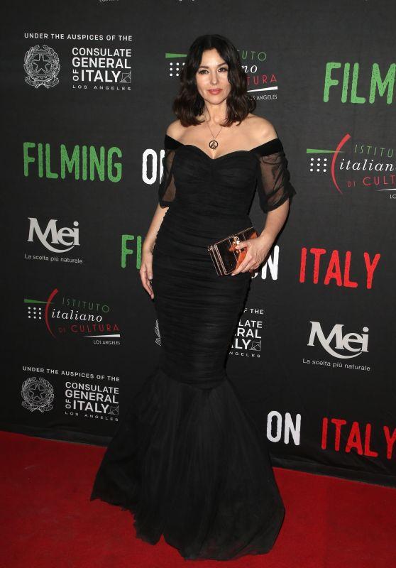 Monica Bellucci – Italian Institute of Culture Los Angeles Creativity Awards 2018