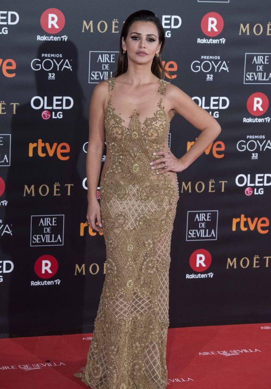 Monica Cruz – 2018 Goya Awards in Madrid