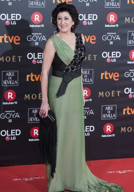 Montse Alcocer – 2018 Goya Awards in Madrid